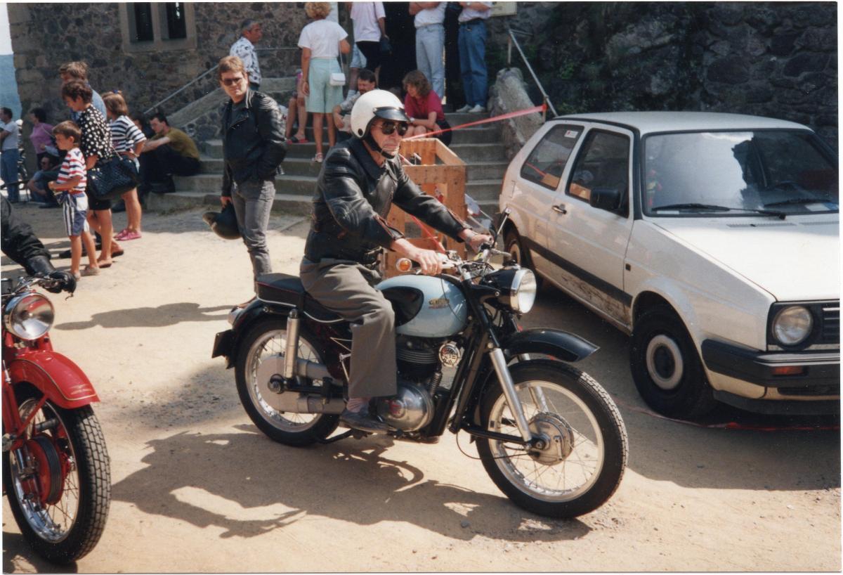 1992 Idar Oberstein Ernst Wüstenhagen auf Parillia